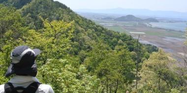 滋賀近江八幡山300m