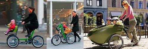 様々な三輪自転車