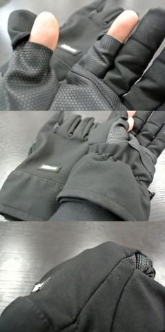縫製もよく、素材もきっちり「防水」但し、指先が『はずせる』仕様なので完全防水ではないですし、縫い目も目張りはされていません。