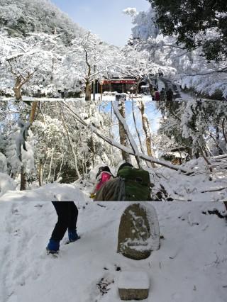 八瀬側は『北側斜面』になるので、地面まで凍りついている印象、残雪も多くなるでしょう。
