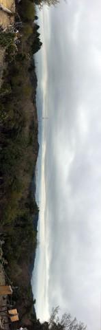 ぽんぽん山、山頂の景色(スマホ対応で横向き)