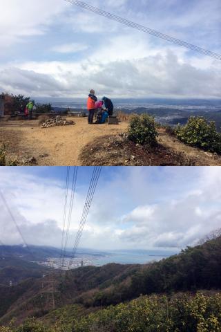 音羽山山頂とその景色