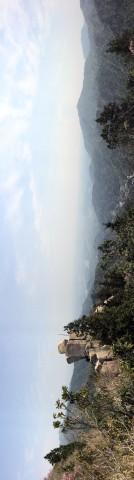 地蔵岩あたりからの風景