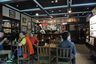 """【徳沢園】今年から制服もできてお洒落なカフェみたいになった徳沢園の""""みちくさ食堂"""""""