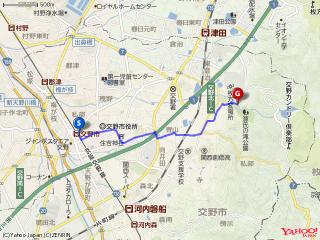 【交野の追跡劇】交野市駅から『源氏の滝』へ