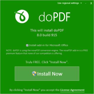 【doPDF】PDFを簡単に作れる(印刷できるものなら)「仮想」プリンターだ。