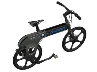 【HANK】ハンディーバイク、確かに小さい、この強そうなフレームで10kgを切る重量もおどろき。