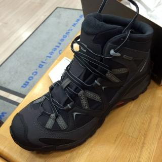 【ぶっつけ本番】勘は当たった。ただし、このサロモンは登山靴としてはまだソフトなほう
