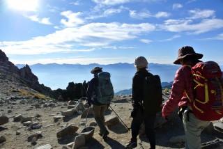 【山歩】快適な山上のトレッキング