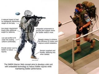 【強化歩兵装備】DARAP(米軍の開発局の上部組織)の構想「脚部強化ユニット」は「発電機能タイツ」につながる?