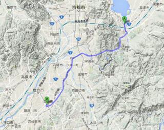 【近くて遠い】タクシーの営業エリアの制限が複雑に込み合う『競合地域』京滋阪奈と4県が絡む。