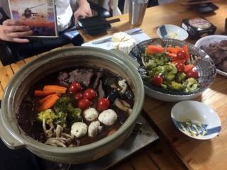 【ワイン鍋】根菜、キノコの温野菜をバクバク食べるレシピ