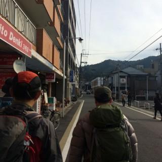 【一乗寺駅から直進】叡山電車の降り場からまっすぐ東山方向へ