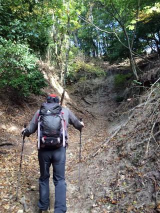 【長い坂】きらら坂は夏場には「低い故の暑さ」で難所だ。