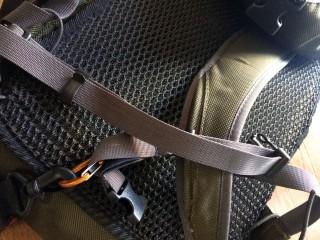 【折り返しを止める】あまったベルトを「ふらふらさせない」効果がある。