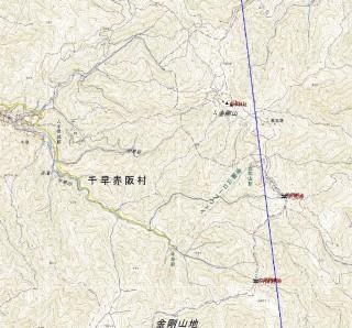 【ミニマムでいうと】この範囲ぐらいが「金剛登山」地図はこちら(PDF 6MB)