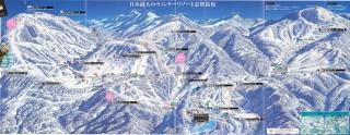 【志賀高原全体を覆うスキー連邦】日本では珍しい大型リゾートだ。