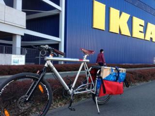 【強大な積載量】IKEAで買い物が出来るほど(le.cyc様より)