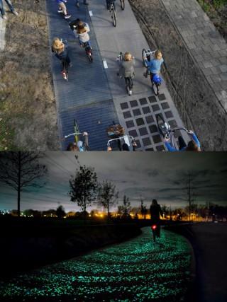 【ソーラーハイウェイ】雪を溶かし、夜間には光る「マジもんのインフラ」だ。