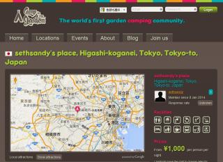 【日本 新小金井】sethsandy's Place