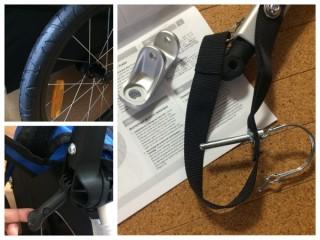【細部も高品質】ハンドルは「無断階調整」、自転車との接合パーツは鍛造品