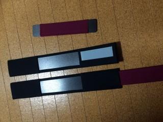 【自分で組み立て】補助板などもキットにあるのでカバンに合わせて組む事も出来る。
