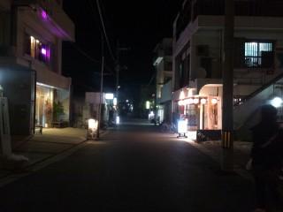 【昔の空気】美崎町の南西部の明るさからすると「真っ暗」