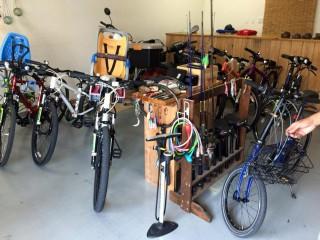【スポーツサイクル】十分な性能のある自転車が借りられる(5時間1500円)。