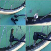 20K自転車「チェックアダプターでバルブを『米式』に統一」
