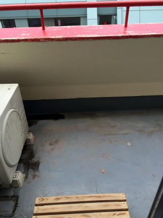 【この惨状から立ち直ることができるのか?】ほら雨漏り工事(塗装)の汚れも残った悲惨な状況。