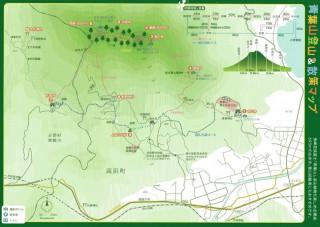 【たかはま観光協会地図】地上を歩く道も悪くないようだ。