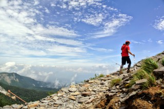 【昨年の硫黄岳】硫黄岳は本当に楽ちんで美しい山でした…大事なのは天気と気候(夏は高山、春秋は低山)を選ぶことです、楽しい登山を!!