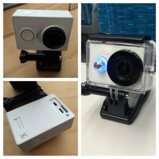 【XiaoYiスポーツカメラ】値段も安いし、なかなか面白い。バッテリーは90分前後(タイムラプスで100分強)