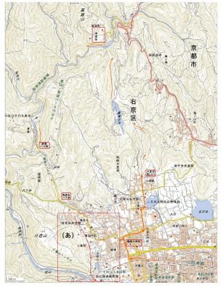 【地図】印刷用はページ下部に。