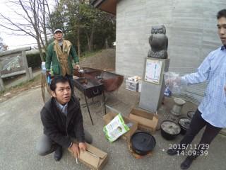 【BBQチーム】