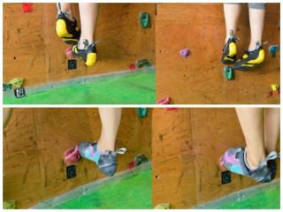 【足の入れ替え】小さなステップでは「足を重ねておいて」「下の足を抜く」という基本動作があるそうな。