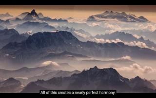 【完璧なピークのハーモニー】美しい景色の中へと入っていけるのが登山の良さです。