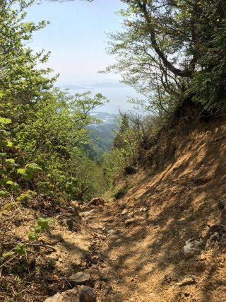 【見返り琵琶湖】金糞峠から琵琶湖の景色