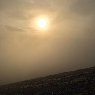 【雲の向こう】あー悔しい天気です「もうすこしか?」と思いながらもなかなか雲が抜けません!!